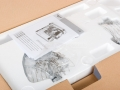 Eta Gratussino - detail rozevřené krabice